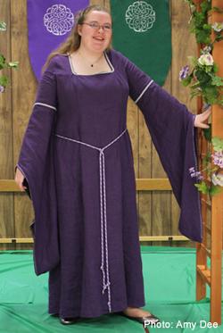 Medieval Bridesmaid Dress - Ocodea.com